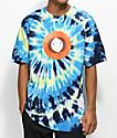 HUF x South Park Kenny camiseta azul con efecto tie dye