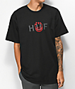 HUF x Spitfire OG Logo camiseta negra