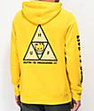 HUF x Spitfire Triangle Yellow Hoodie