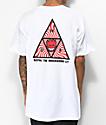 HUF x Spitfire Triple Triangle camiseta blanca