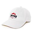 HUF x Thrasher Polo gorra de béisbol en blanco