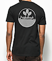 Habitat Line Logo Black T-Shirt
