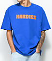Hardies Hardware Blocks Logo camiseta en azul real