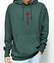 Hardies Hardware Bolt Icon sudadera en verde oscuro