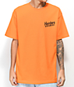Hardies Hardware Domino Orange T-Shirt