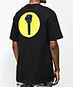 Hardies Hardware Stand Circle Logo camiseta negra