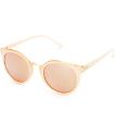 Helium gafas de sol en rosa y color oro rosa
