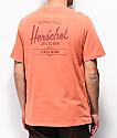 Herschel Classic Logo Orange T-Shirt