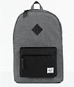 Herschel Supply Co Heritage mochila en color carbón