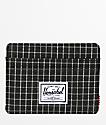 Herschel Supply Co. Charlie Black Grid Cardholder