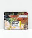 Herschel Supply Co. Charlie Hoffman Floral Cardholder Wallet