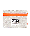 Herschel Supply Co. Charlie Light Grey & Orange Cardholder Wallet