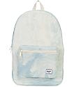 Herschel Supply Co. Daypack 24.5L mochila de mezclilla blanqueada