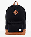 Herschel Supply Co. Heritage Black & Tan Backpack