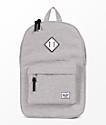 Herschel Supply Co. Heritage Light Grey Crosshatch 21.5L Backpack