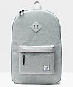 Herschel Supply Co. Heritage Light Grey Crosshatch Backpack