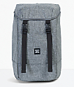 Herschel Supply Co. Iona Raven Crosshatch Backpack