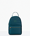 Herschel Supply Co. Nova Deep Teal Satin mini mochila