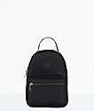 Herschel Supply Co. Nova mini mochila satinada negra