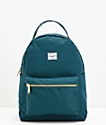 Herschel Supply Co. Nova mochila verde azulado
