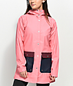 Herschel Supply Co. Pink & Navy Rain Parka