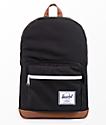 Herschel Supply Co. Pop Quiz 22L mochila en negro y marrón