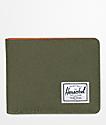 Herschel Supply Co. Roy Forest Night & Orange Bifold Wallet