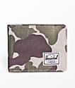 Herschel Supply Co. Roy Frog Camo cartera plegable