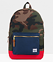 Herschel Supply Co. Settlement Camo, Navy & Red Backpack