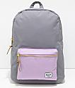 Herschel Supply Co. Settlement Mid Grey & Lavender 17L Backpack