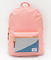 Herschel Supply Co. Settlement Mid Peach & Teal 17L Backpack