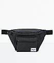 Herschel Supply Co. Seventeen Black Crosshatch Fanny Pack