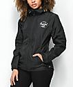 Herschel Supply Co. Voyage Black Windbreaker Jacket