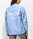 Herschel Supply Co. chaqueta entrenador azul claro