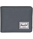 Herschel Supply Roy billetera doble pliegue en gris