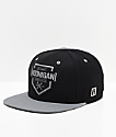 Hoonigan Bracket X Black & Grey Snapback Hat