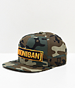 Hoonigan Censor Bar Camo Snapback Hat