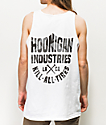 Hoonigan Geo Kill All White Tank Top