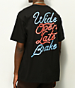 Hoonigan Late Brake Black T-Shirt