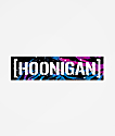 Hoonigan Livery Censor Bar Sticker