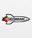 Hoonigan Rocket Sticker