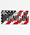 Hoonigan Stars & Stripes License Plate