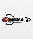 Hoonigan pegatina cohete