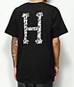 Huf X Harold Hunter Foundation Classic H Black T-Shirt