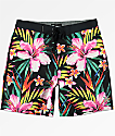 Hurley Phantom Garden Black Board Shorts