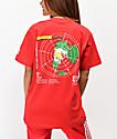 Hypland Flat Earth camiseta roja