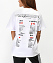 Hypland World Tour camiseta blanca