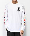 Hypland Worldwide camiseta blanca de manga larga