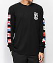 Hypland Worldwide camiseta negra de manga larga