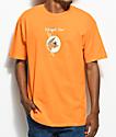Illegal Civilization Classy Dino camiseta en color naranja